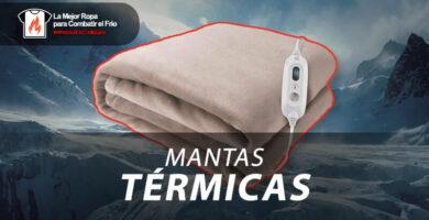 mejores mantas electricas calefactables termicas
